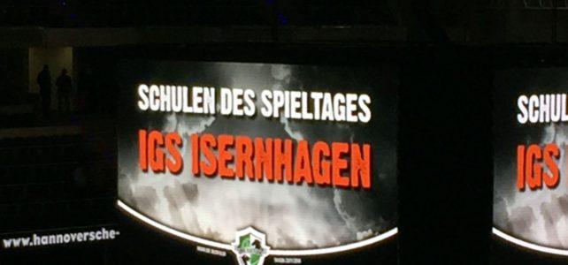 """IGS Isernhagen ist """"Schule des Spieltages"""""""