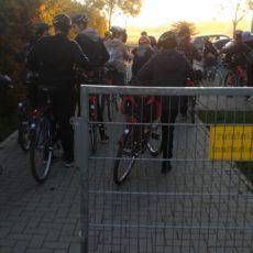 IGS-Schüler fahren Fahrrad