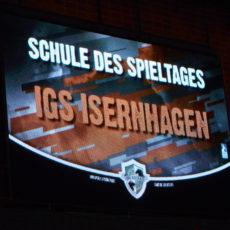 Die Recken – IGS Isernhagen ist Schule des Spieltages!