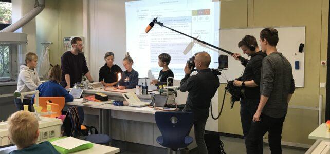 ZDF logo! filmt an der IGS Isernhagen